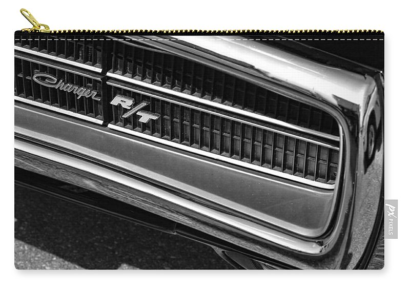 1970 Carry-all Pouch featuring the photograph 1970 Dodge Charger R/t by Gordon Dean II
