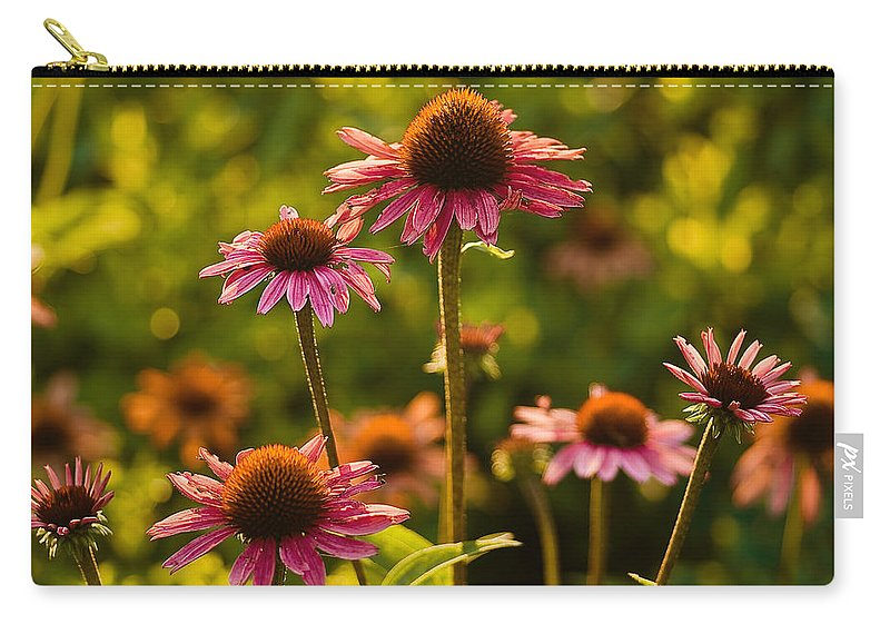 Longwood Gardens Carry-all Pouch featuring the photograph A Glow by Samantha Eisenhauer