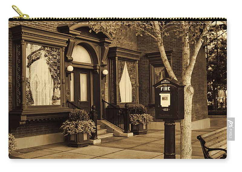 Disney California Adventure Carry-all Pouch featuring the photograph A Moment In Time by Tommy Anderson