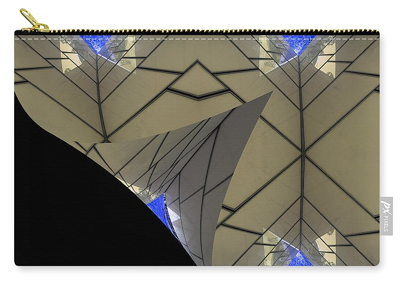 Abstract Carry-all Pouch featuring the photograph Altered State by Wayne Sherriff