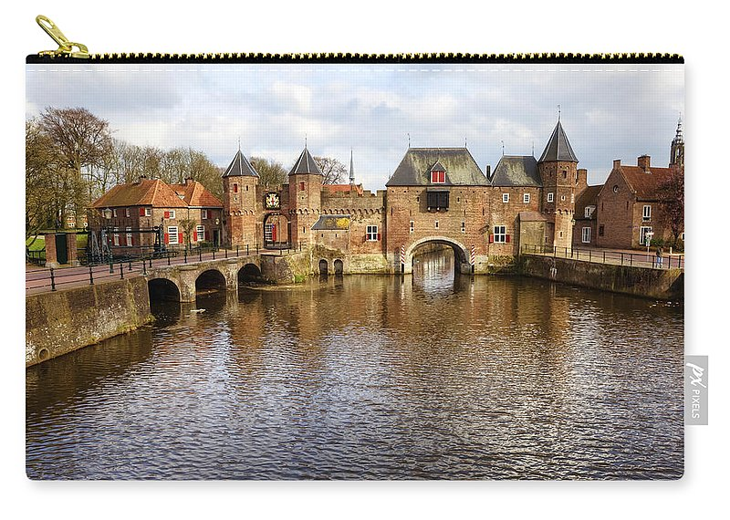 Koppelpoort Carry-all Pouch featuring the photograph Amersfoort by Joana Kruse