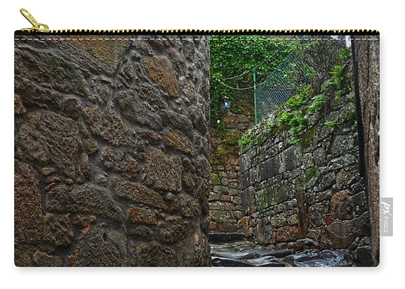 Ancient Carry-all Pouch featuring the photograph Ancient Street In Tui by RicardMN Photography