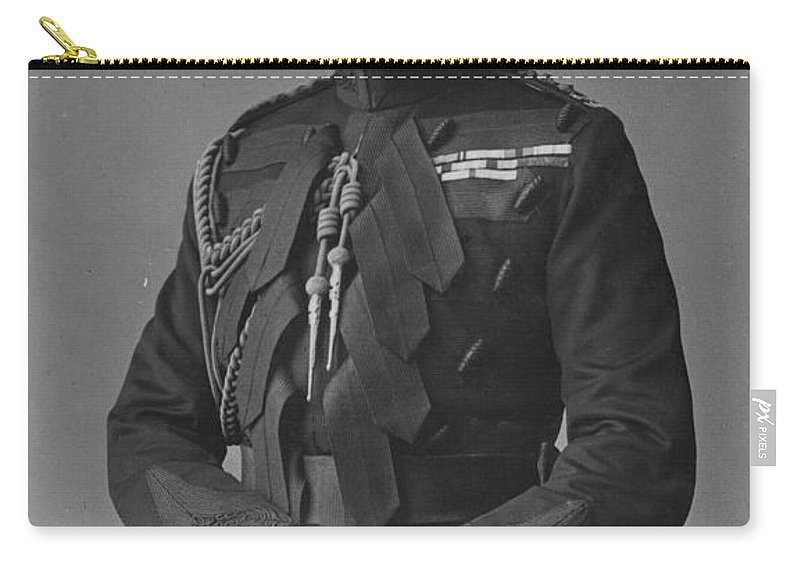 1910 Carry-all Pouch featuring the photograph Arthur, Duke Of Connaught (1850-1942) by Granger