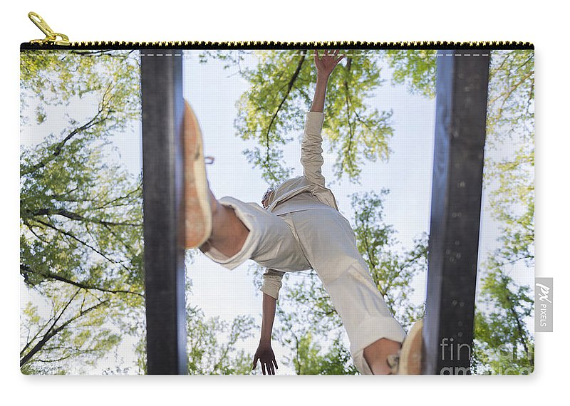 Balance Carry-all Pouch featuring the photograph Balance by Mats Silvan