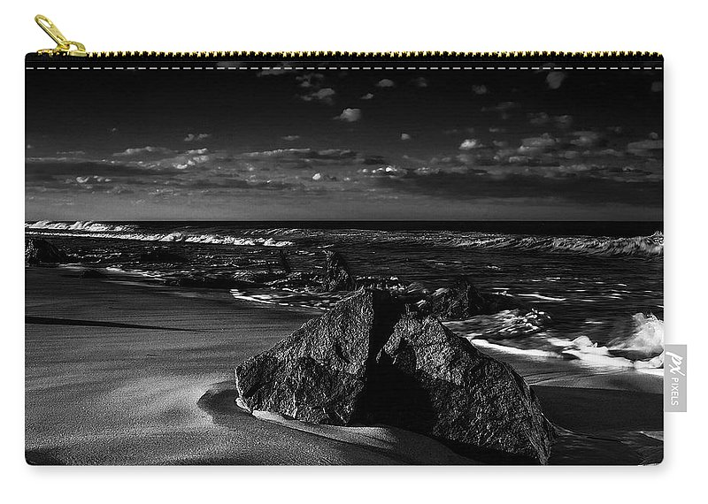 Beach Carry-all Pouch featuring the photograph Beach 18 by Ingrid Smith-Johnsen