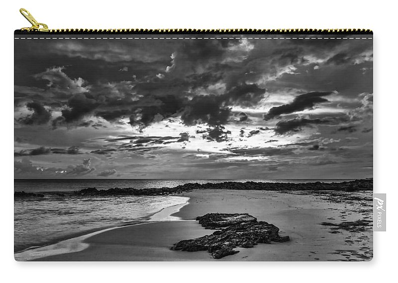 Beach Carry-all Pouch featuring the photograph Beach 21 by Ingrid Smith-Johnsen