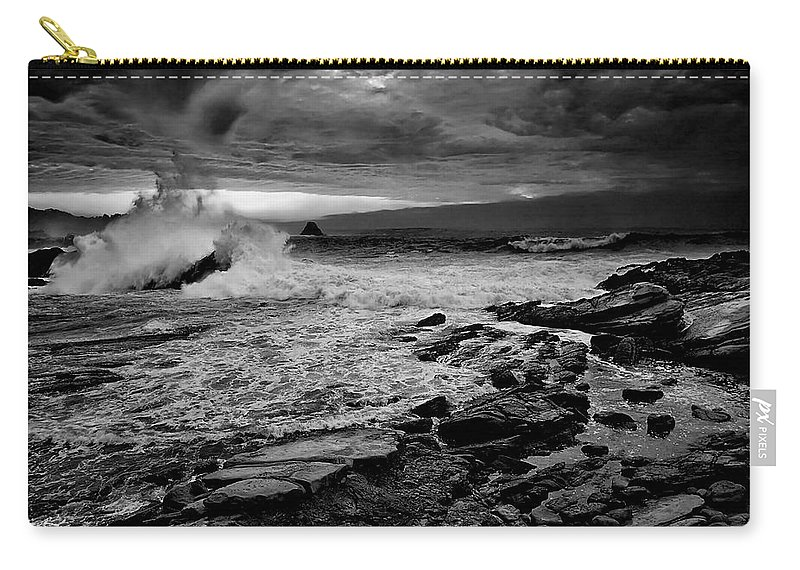 Beach Carry-all Pouch featuring the photograph Beach 30 by Ingrid Smith-Johnsen