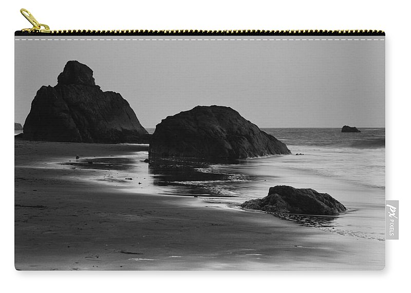 Beach Carry-all Pouch featuring the photograph Beach 35 by Ingrid Smith-Johnsen