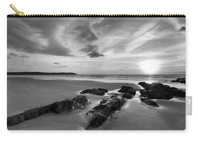 Beach Carry-all Pouch featuring the photograph Beach 38 by Ingrid Smith-Johnsen