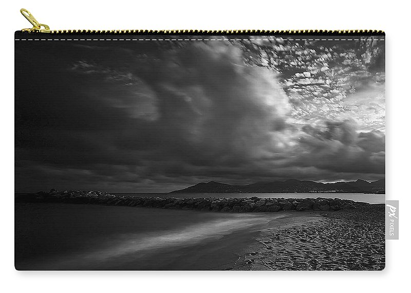 Beach Carry-all Pouch featuring the photograph Beach 37 by Ingrid Smith-Johnsen