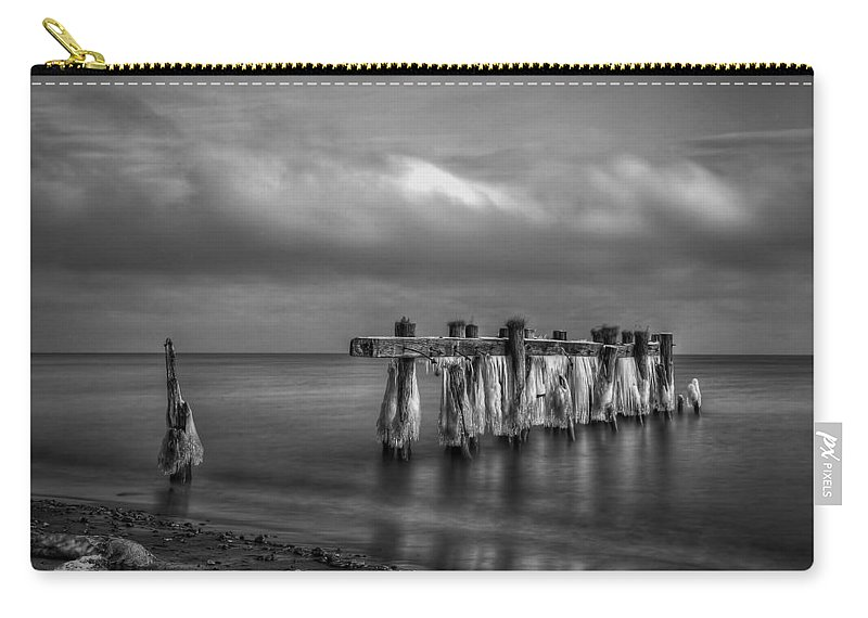 Beach Carry-all Pouch featuring the photograph Beach 19 by Ingrid Smith-Johnsen