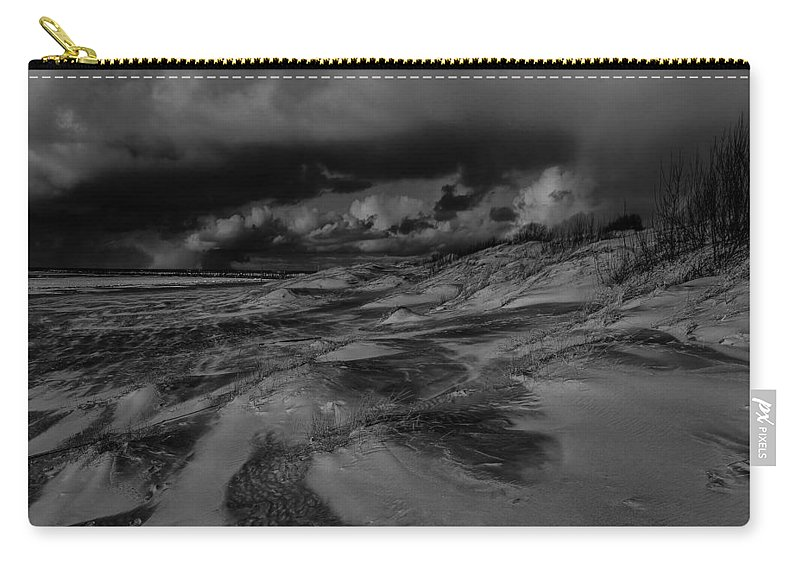 Beach Carry-all Pouch featuring the photograph Beach 1 by Ingrid Smith-Johnsen