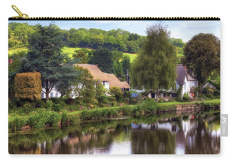 Bickleigh Carry-all Pouch featuring the photograph Bickleigh - Devon by Joana Kruse