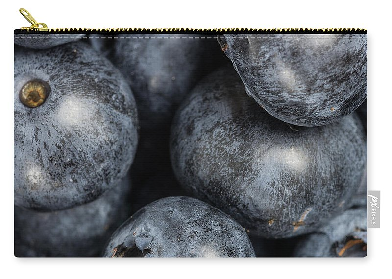 Agriculture Carry-all Pouch featuring the photograph Blueberries by John Trax