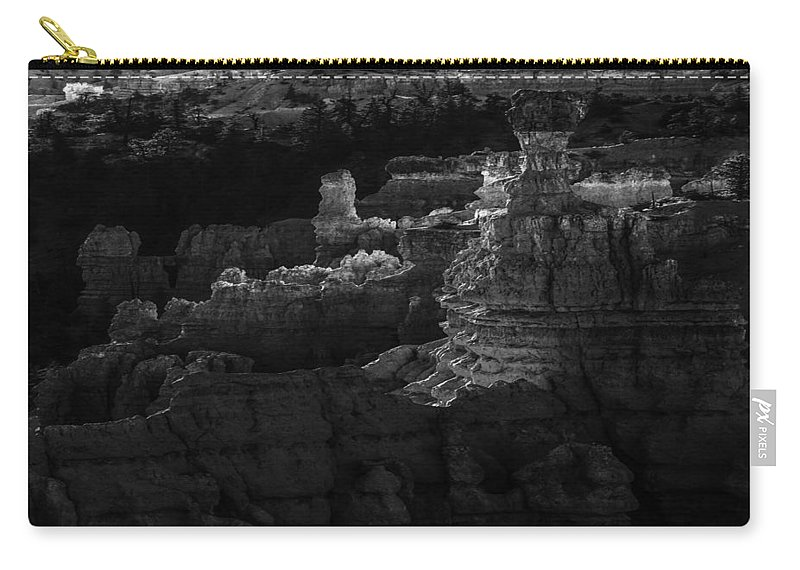 Adventure Carry-all Pouch featuring the photograph Bryce Canyon 12 by Ingrid Smith-Johnsen