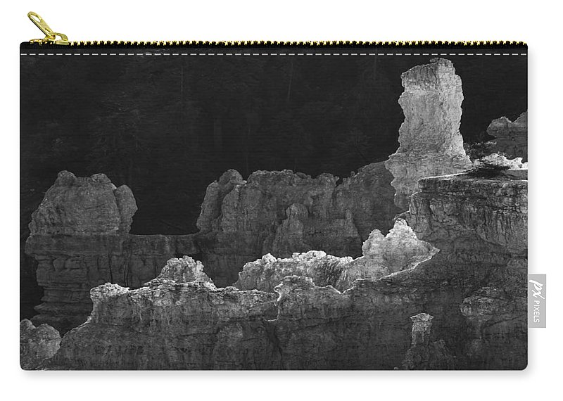 Adventure Carry-all Pouch featuring the photograph Bryce Canyon 14 by Ingrid Smith-Johnsen