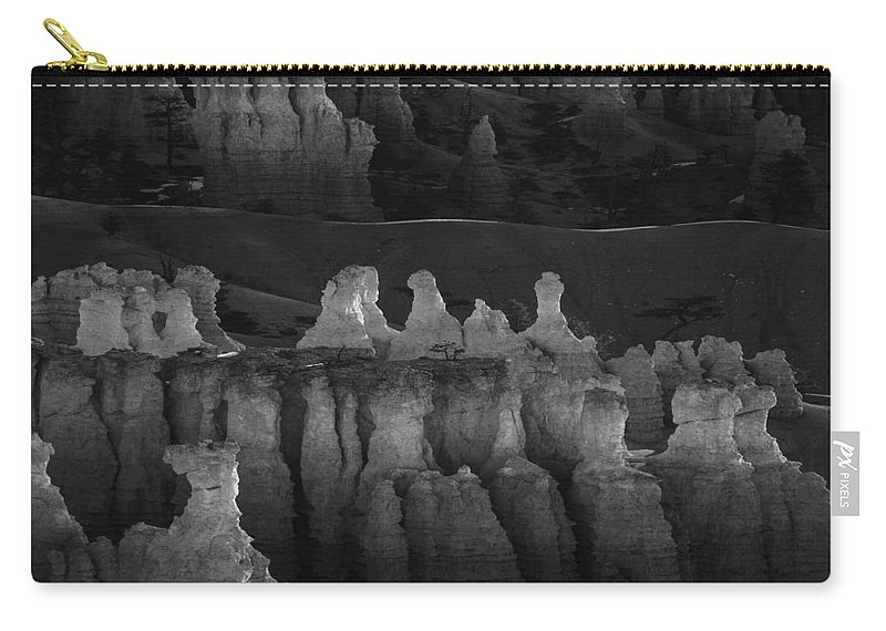 Adventure Carry-all Pouch featuring the photograph Bryce Canyon 17 by Ingrid Smith-Johnsen