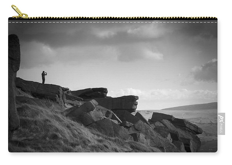 Buckstone Edge Carry-all Pouch featuring the photograph Buckstone Edge by Chris Smith