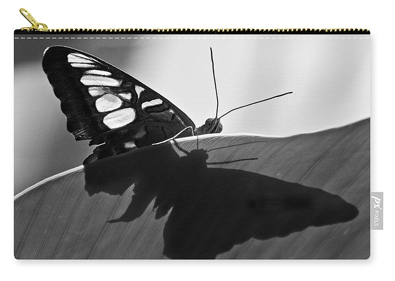 Butterfly Carry-all Pouch featuring the photograph Butterfly II by Ron White