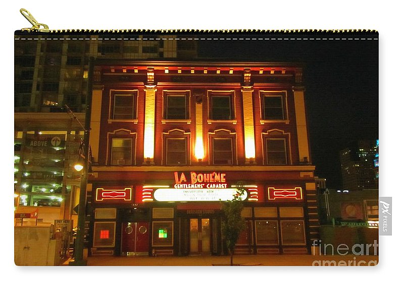 Cabarets Carry-all Pouch featuring the photograph Cabaret by John Malone