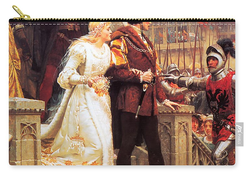 Edmund Carry-all Pouch featuring the painting Call To Arms by Philip Ralley