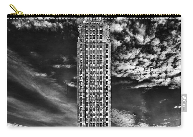 Baton Rouge Carry-all Pouch featuring the photograph Capitol Building Of Louisiana by Mountain Dreams