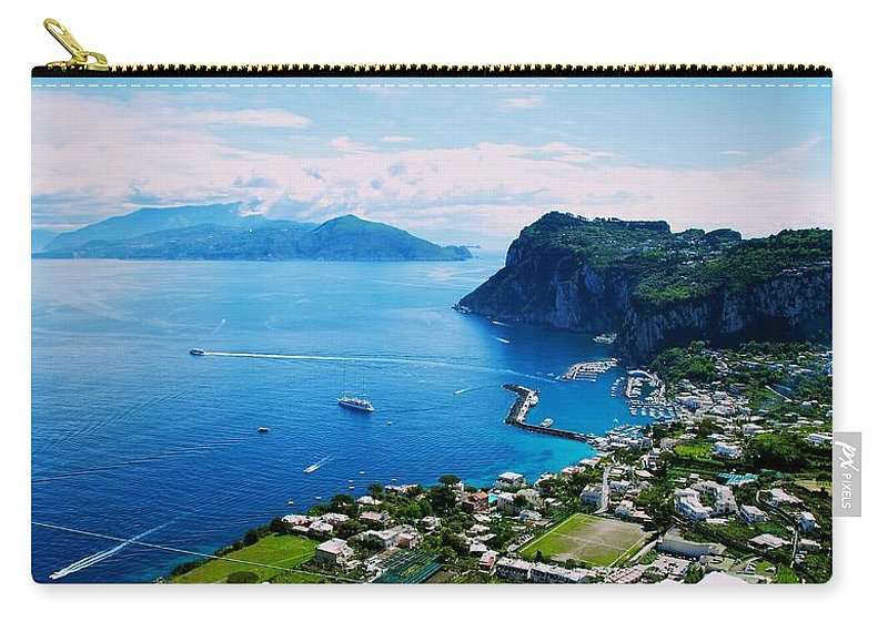Capri Carry-all Pouch featuring the photograph Capri by Eric Tressler