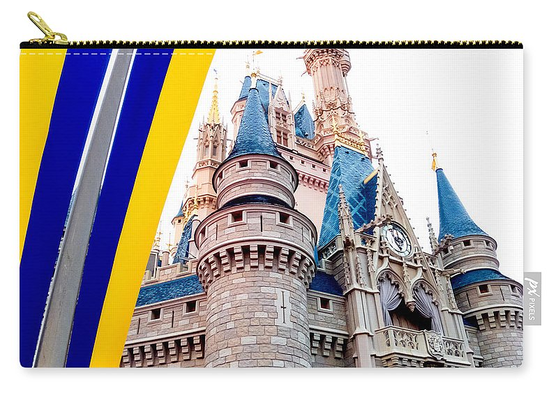 Castle Carry-all Pouch featuring the photograph Celebration by Greg Fortier