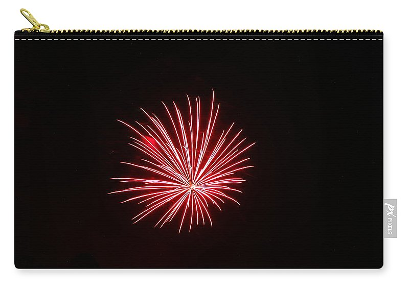 Fireworks Carry-all Pouch featuring the photograph Celebration Xxxvii by Pablo Rosales