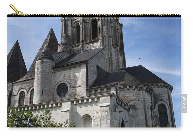 Church Carry-all Pouch featuring the photograph Church - Loches - France by Christiane Schulze Art And Photography