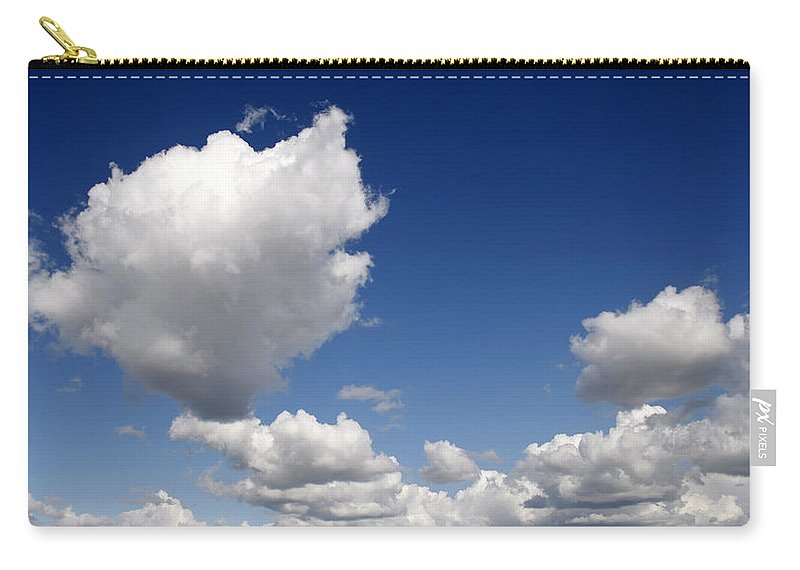 Cloud Carry-all Pouch featuring the photograph Cloudscape by Steve Ball