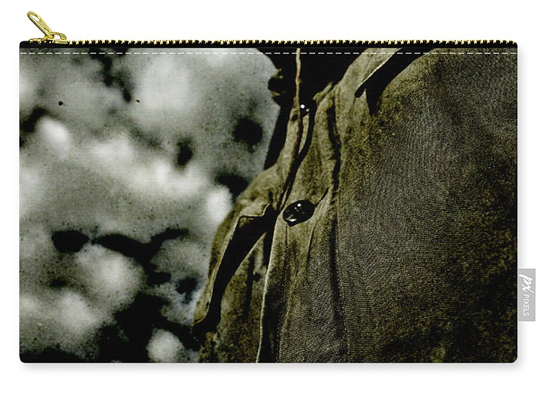 Dramatic Carry-all Pouch featuring the photograph Cloudy Captain by Jorgo Photography - Wall Art Gallery