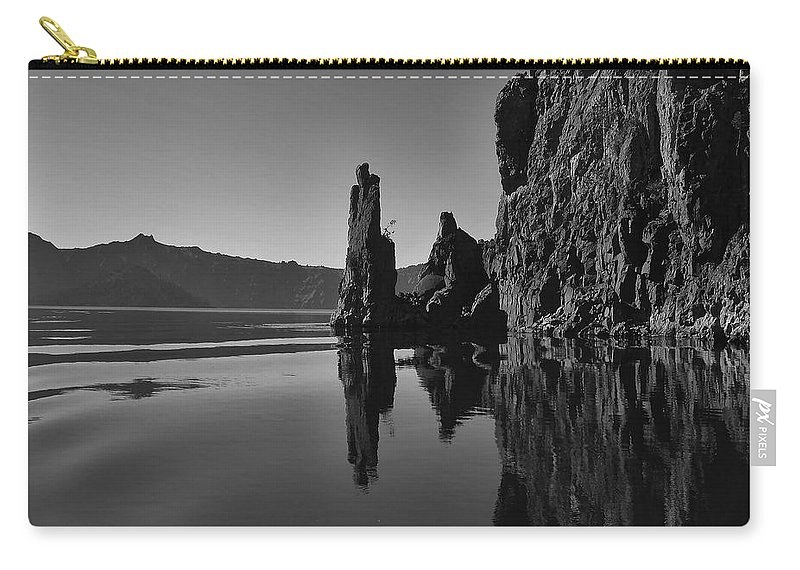 Bay Carry-all Pouch featuring the photograph Coast 19 by Ingrid Smith-Johnsen