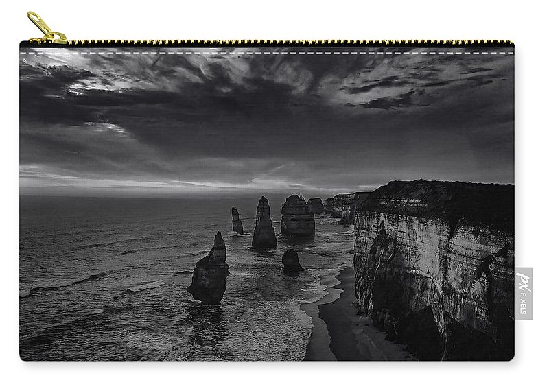 Bay Carry-all Pouch featuring the photograph Coast 8 by Ingrid Smith-Johnsen