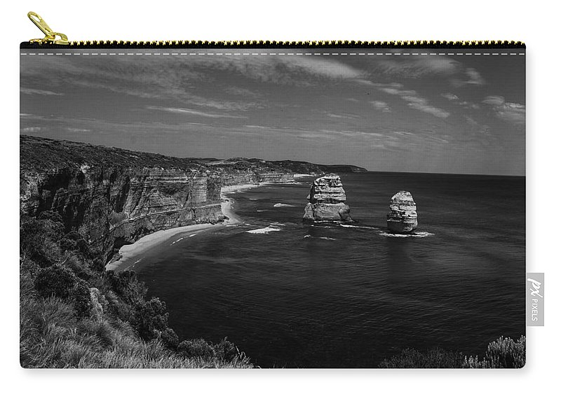 Bay Carry-all Pouch featuring the photograph Coast 9 by Ingrid Smith-Johnsen
