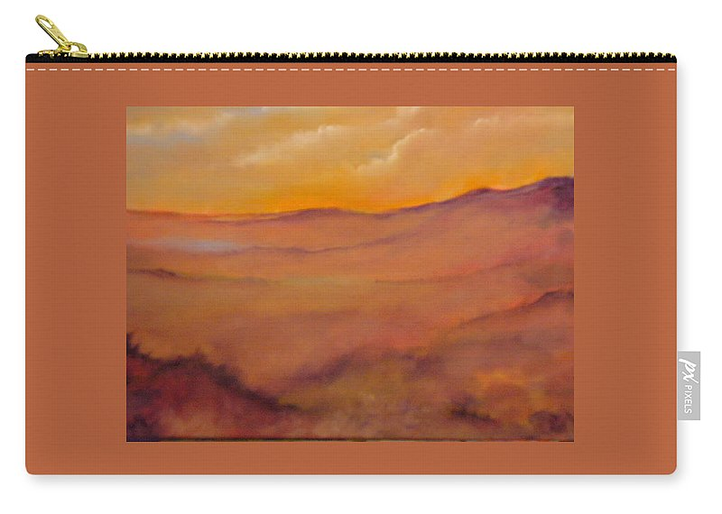 Colorado Carry-all Pouch featuring the painting Colorado by Lord Frederick Lyle Morris - Disabled Veteran