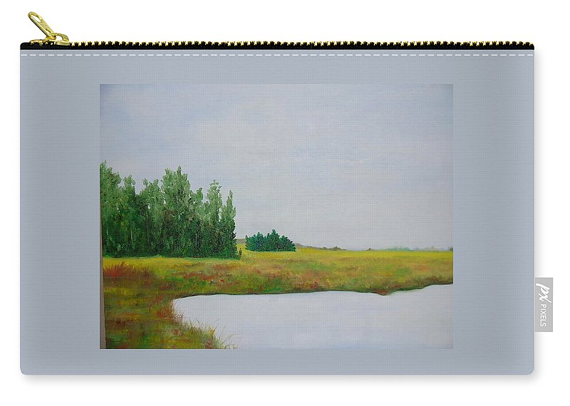 Colorado Carry-all Pouch featuring the painting Colorado Summer by Lord Frederick Lyle Morris - Disabled Veteran
