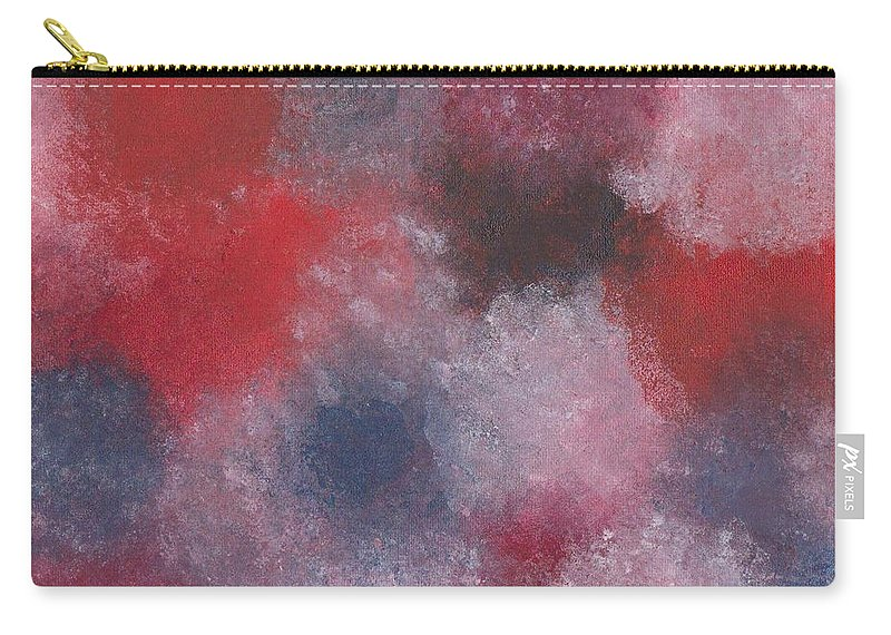Oils Carry-all Pouch featuring the painting Colors Painting by Jill Christensen