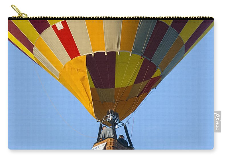 Transportation Carry-all Pouch featuring the photograph Up Up And Away by Brian Roscorla