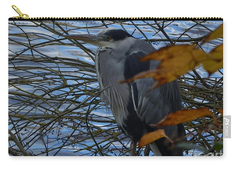 Carry-all Pouch featuring the photograph Curious by Nili Tochner