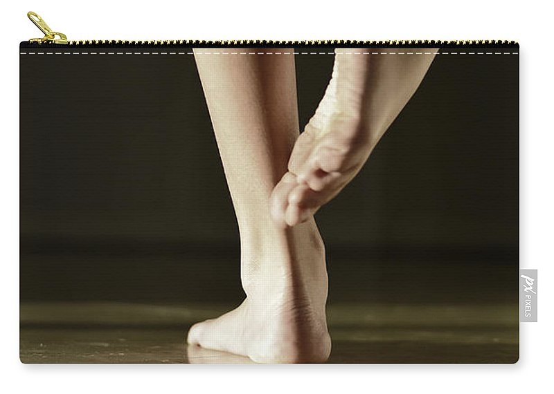 Laura Fasulo Carry-all Pouch featuring the photograph Dancer by Laura Fasulo