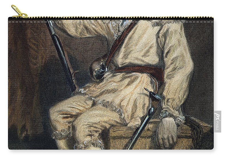 18th Century Carry-all Pouch featuring the photograph Daniel Morgan (1736-1802) by Granger