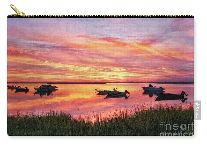 Dawn Carry-all Pouch featuring the photograph Dawn by Claudia Kuhn