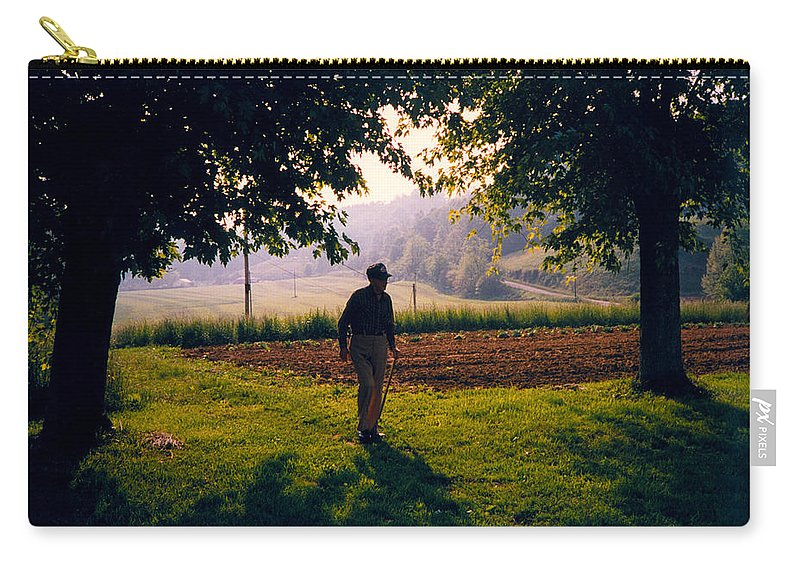 Stacy Carry-all Pouch featuring the photograph Day Is Done by Douglas Barnett