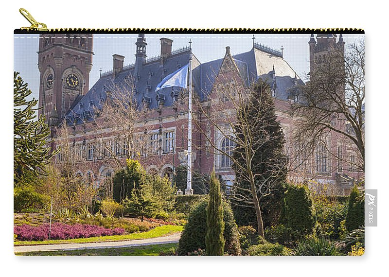 Peace Palace Carry-all Pouch featuring the photograph Den Haag by Joana Kruse