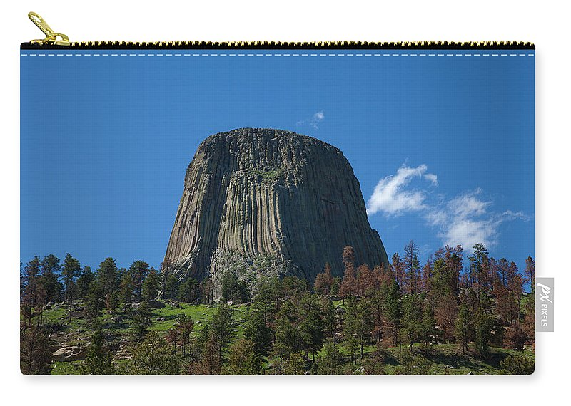 America Carry-all Pouch featuring the photograph Devil's Tower by Scott Sanders