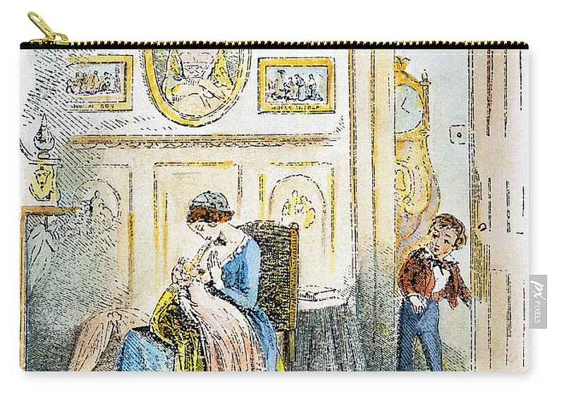 19th Century Carry-all Pouch featuring the photograph Dickens: David Copperfield by Granger