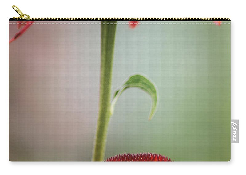 Flowers Carry-all Pouch featuring the photograph Duo by Jacqui Boonstra