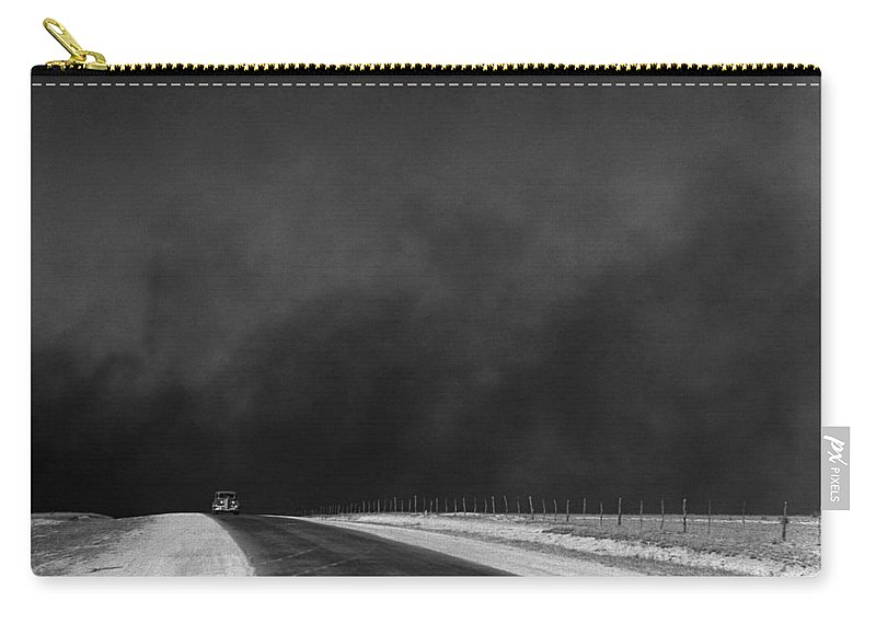 1936 Carry-all Pouch featuring the photograph Dust Bowl, 1936 by Granger
