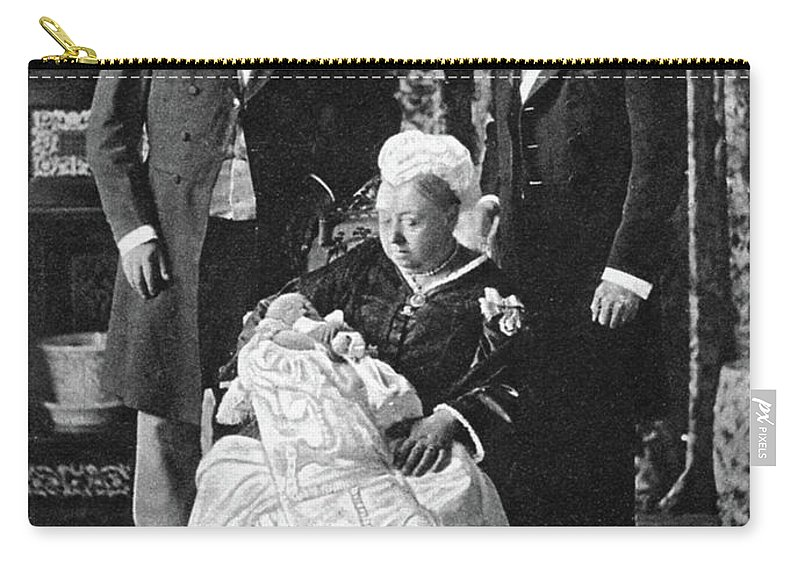 1894 Carry-all Pouch featuring the photograph Edward Viii (1894-1972) by Granger